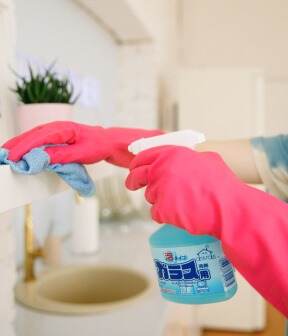 Surface disinfectants Product testing